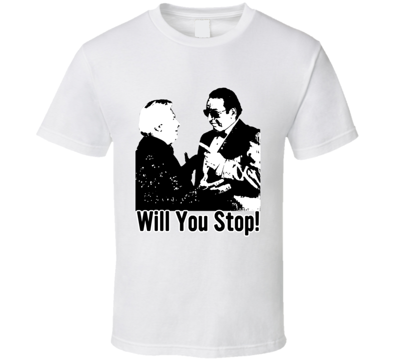 Bobby Heenan And Gorilla Monsoon Due Funny Wrestling T Shirt