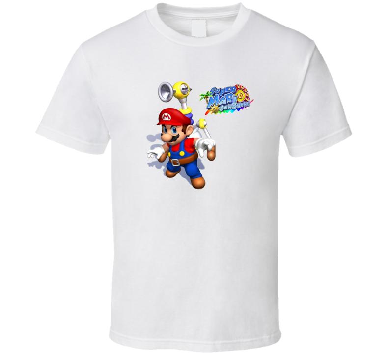 Super Mario Sunshine Nintendo Gamecube T Shirt