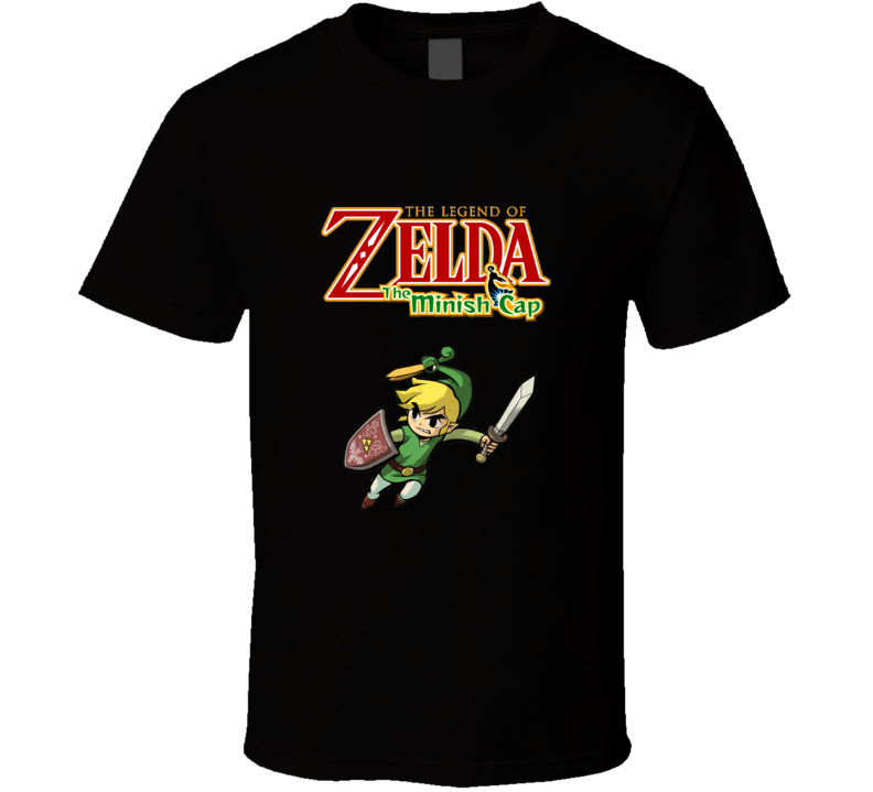 The Legend Of Zelda The Minish Cap T Shirt