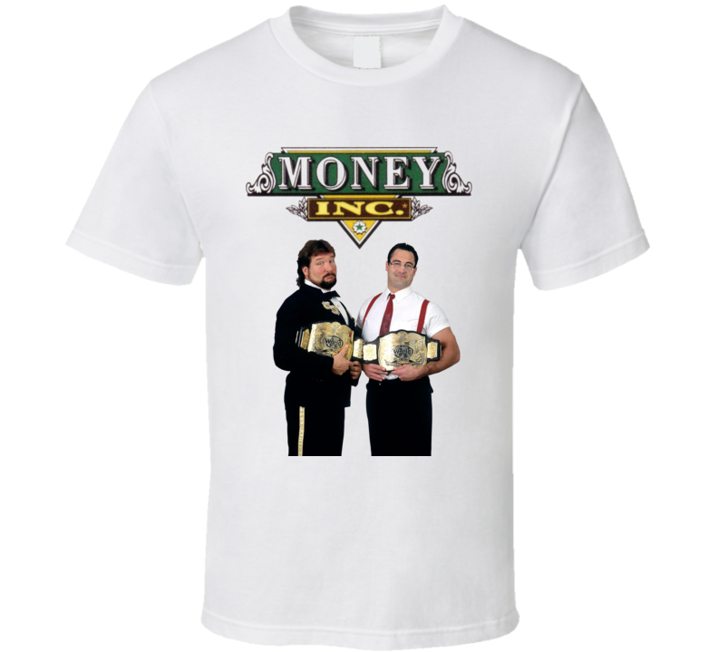 Money Inc. Million Dollar Man Irs Tag Team Wrestling T Shirt