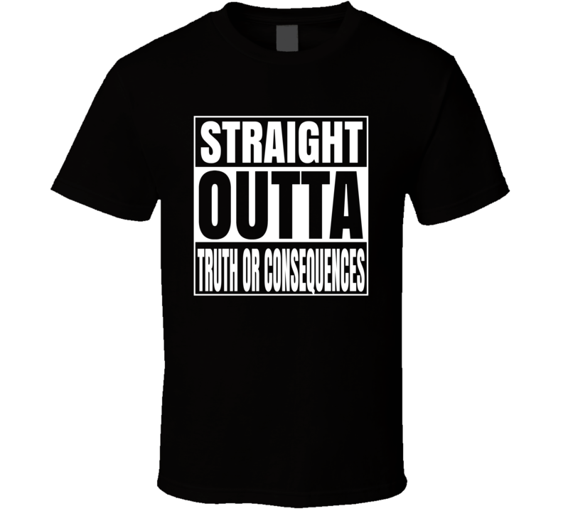Cactus Jack Truth Or Consequences Wrestling T Shirt