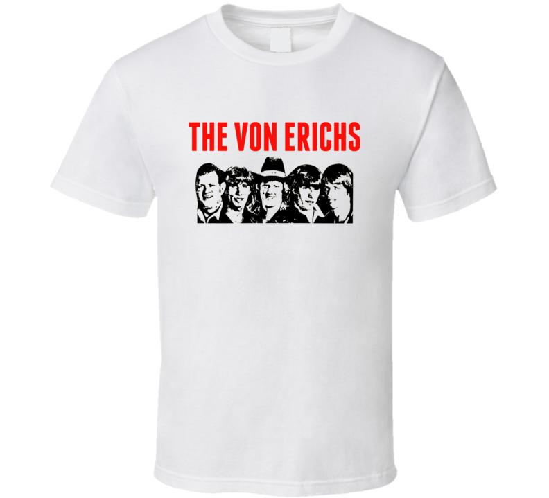 The Von Erich Family Retro Wrestling T Shirt
