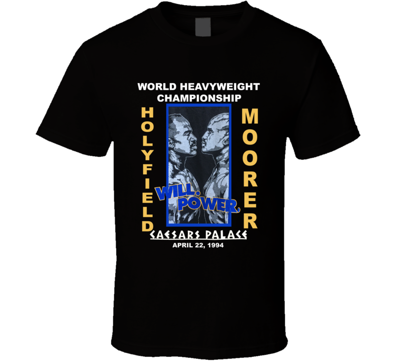 Holyfield Vs Moorer 1994 Fight Boxing T Shirt