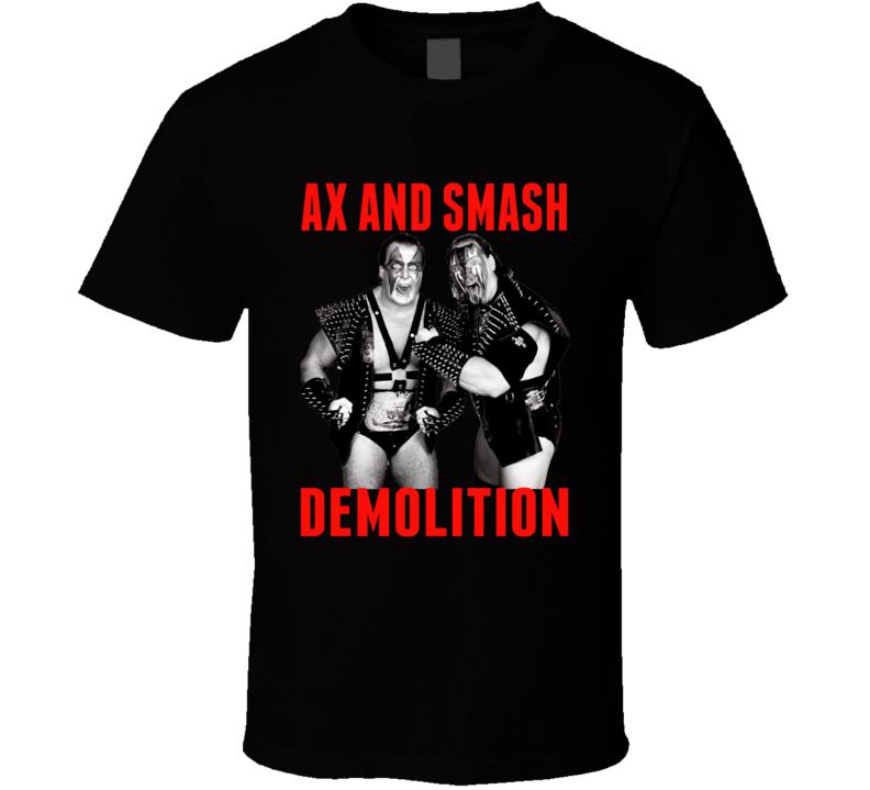 Demolition Ax And Smash Retro Wrestling T Shirt