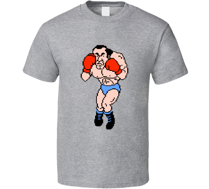 Super Macho Man Mike Tyson's Punchout Nes Boxing T Shirt