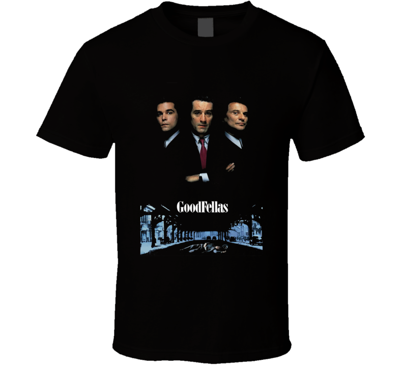 Goodfellas Retro 90's Gangster Movie T Shirt