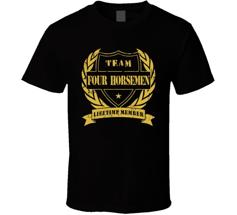 Four Horsemen Wcw Team Lifetime Member Wrestling T Shirt