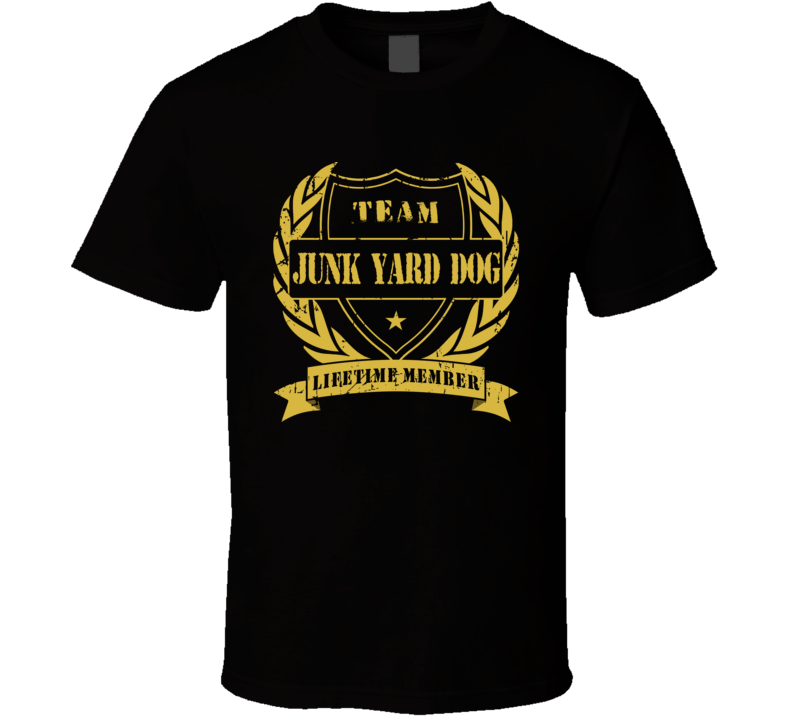 Junk Yard Dog Team Lifetime Member Wrestling T Shirt
