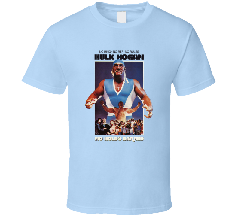 No Holds Barred Retro Action Wrestling Movie T Shirt