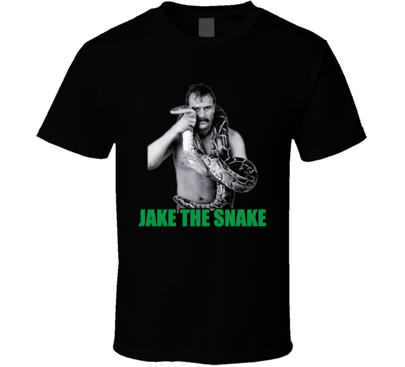 Jake The Snake Wwf Legend Retro Wrestling T Shirt