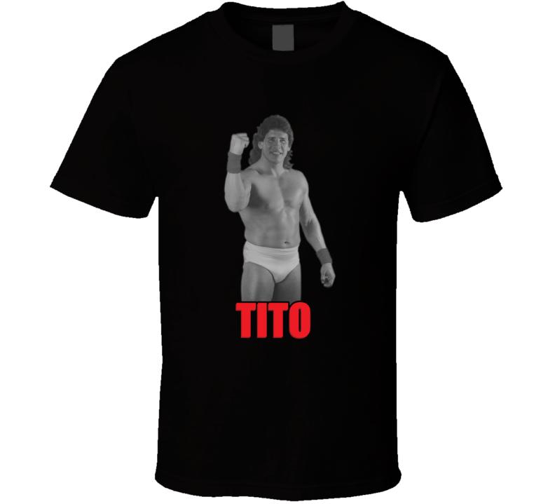 Tito Santana Wwf Legend Retro Wrestling T Shirt