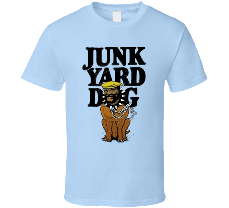 Junk Yard Dog Retro Wrestling Legend T Shirt