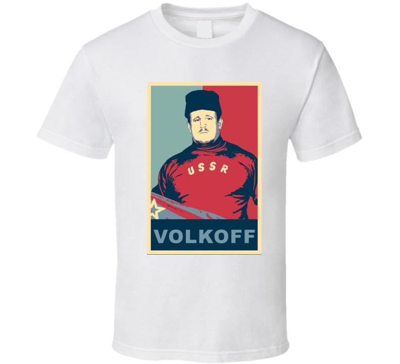 Nikolai Volkoff Retro Wrestling Hope Style T Shirt