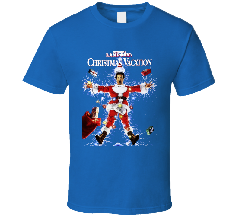 National Lampoon's Christmas Vacation Funny 80's Movie T Shirt