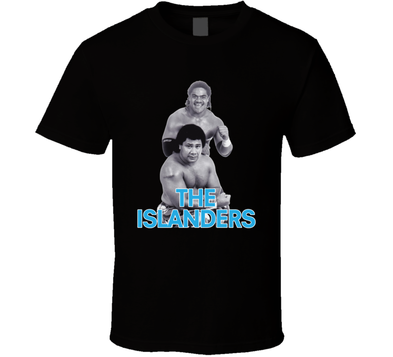 The Islanders Retro Wwf Tag Team Haku Tama Wrestling T Shirt