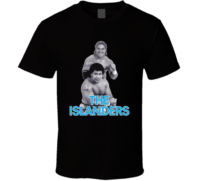 The Islanders Retro Wwf Tag Team Haku Tama Wrestling T Shirt