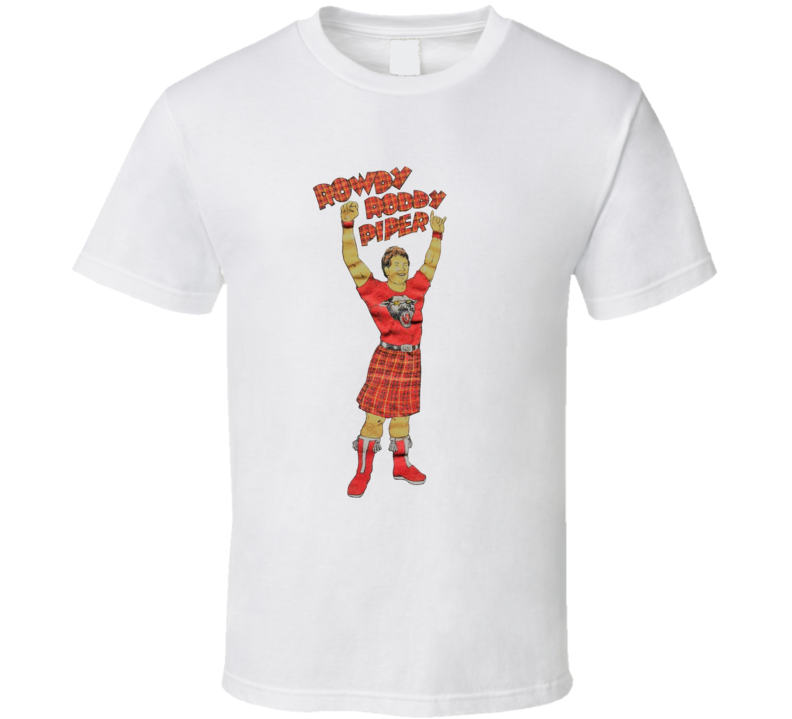 Rowdy Roddy Piper Retro 80's Wrestling Cool T Shirt