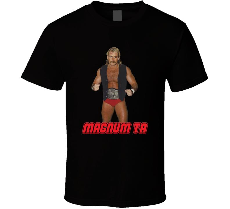 Magnum Ta Retro Wrestling Legend T Shirt  T Shirt