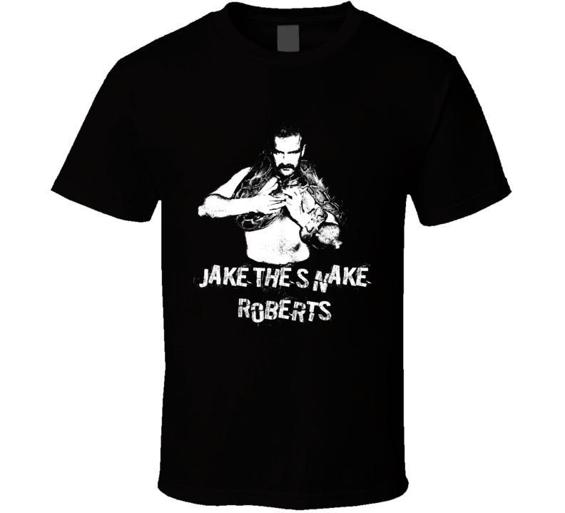 Jake The Snake Roberts Legends Of Wrestling Retro T Shirt