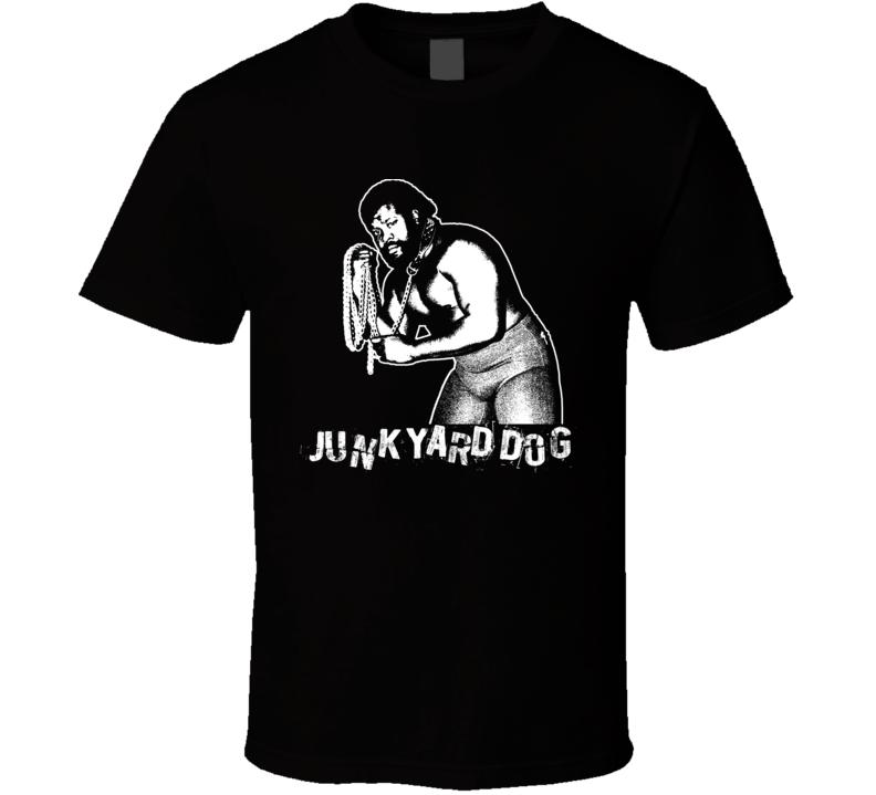 Junk Yard Dog Legends Of Wrestling Retro T Shirt