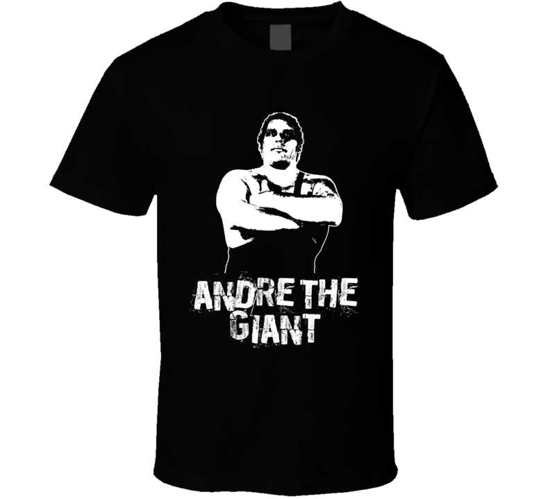 Andre The Giant Retro Legends Of Wrestling T Shirt