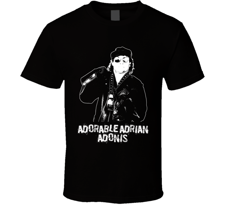 Adorable Adrian Adonis Retro Legends Of Wrestling T Shirt