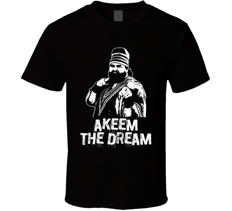 Akeem The Dream Retro Legends Of Wrestling T Shirt