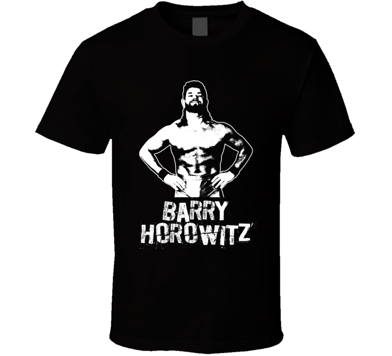 Barry Horowitz Retro Legends Of Wrestling T Shirt