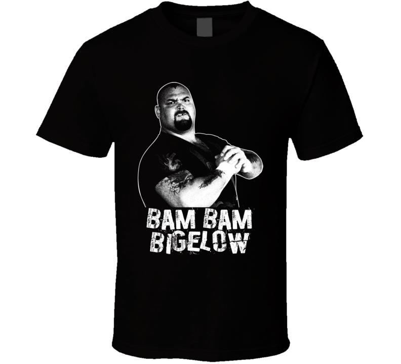 Bam Bam Bigelow Retro Legends Of Wrestling T Shirt