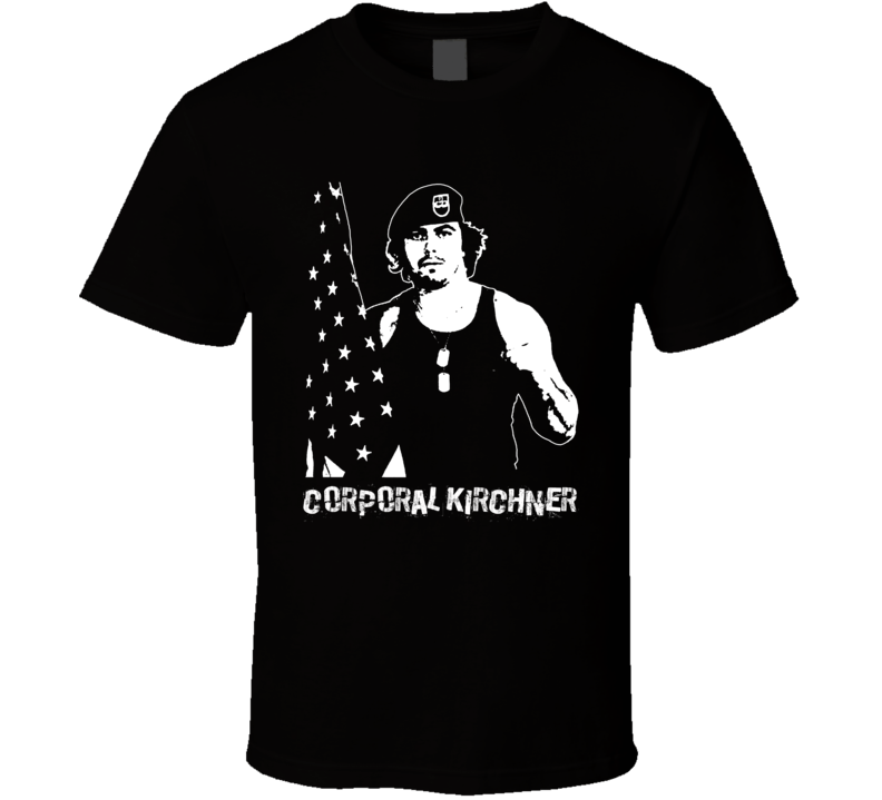 Corporal Kirchner Retro Legends Of Wrestling T Shirt