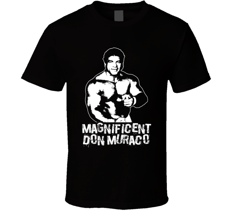 Magnificent Don Muraco Retro Legends Of Wrestling T Shirt