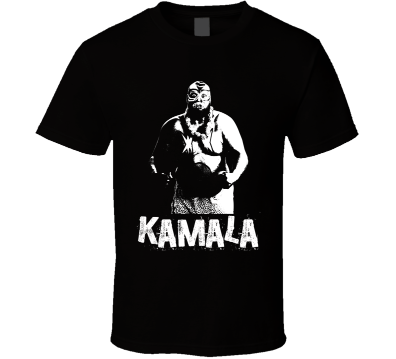 Kamala Retro Legends Of Wrestling T Shirt