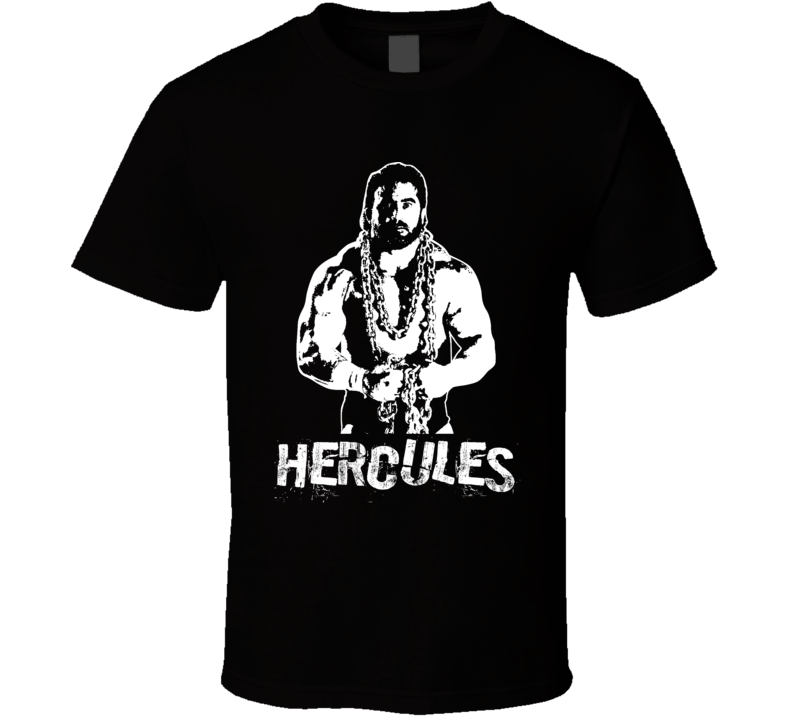 Hercules Retro Legends Of Wrestling T Shirt