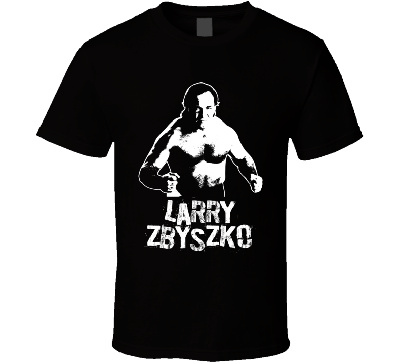 Larry Zbyszko Retro Legends Of Wrestling T Shirt
