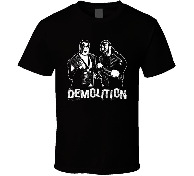 Demolition Tag Team Retro Legends Of Wrestling T Shirt