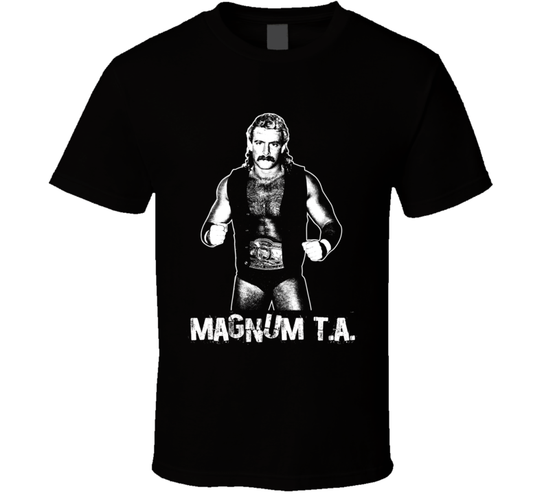 Magnum T.a Retro Legends Of Wrestling T Shirt