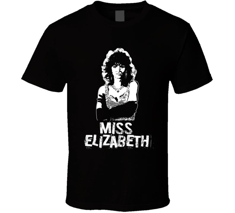 Miss Elizabeth Retro Legends Of Wrestling Manager T Shirt