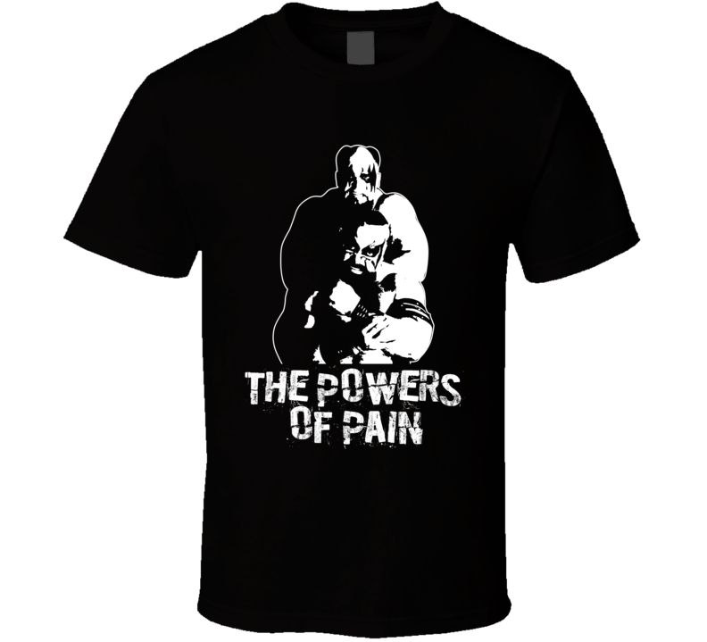 The Powers Of Pain Retro Legends Of Wrestling T Shirt