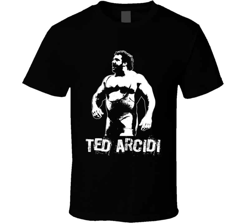 Ted Arcidi Retro Legends Of Wrestling T Shirt