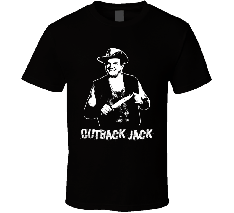 Outback Jack Retro Legends Of Wrestling T Shirt