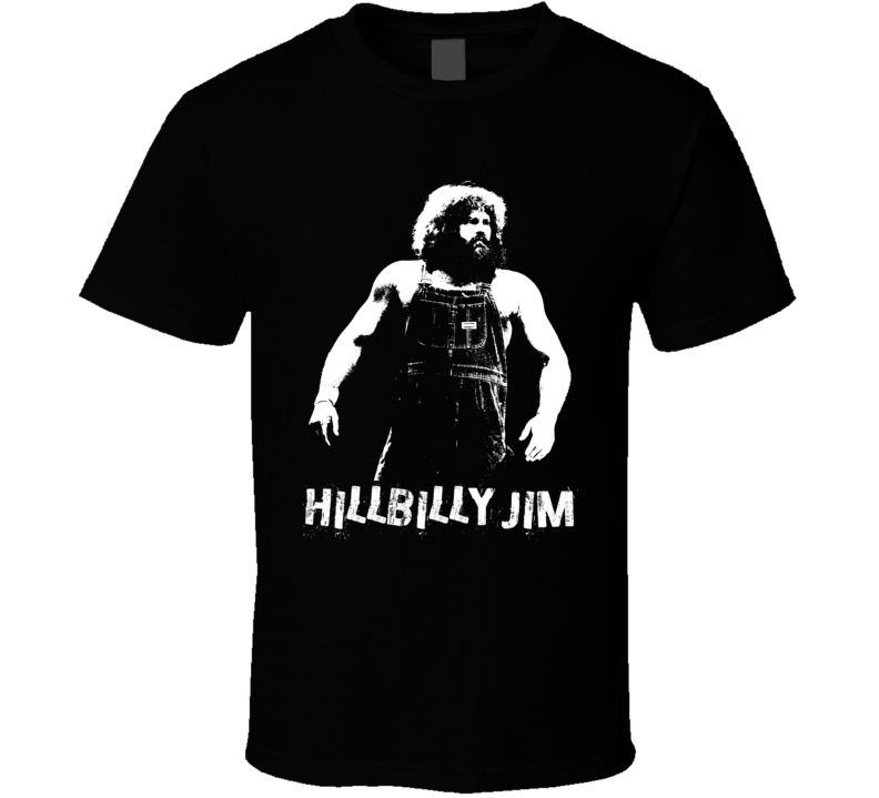 Hillbilly Jim Retro Legends Of Wrestling T Shirt