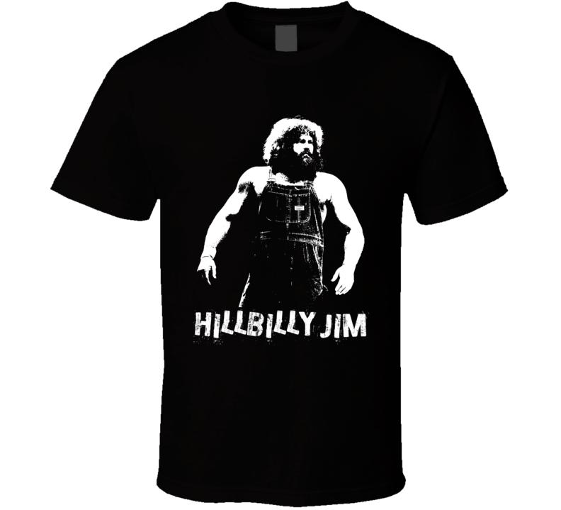 Hillbilly Jim Retro Legends Of Wrestling T Shirt