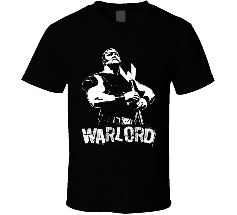 Warlord Retro Legends Of Wrestling T Shirt