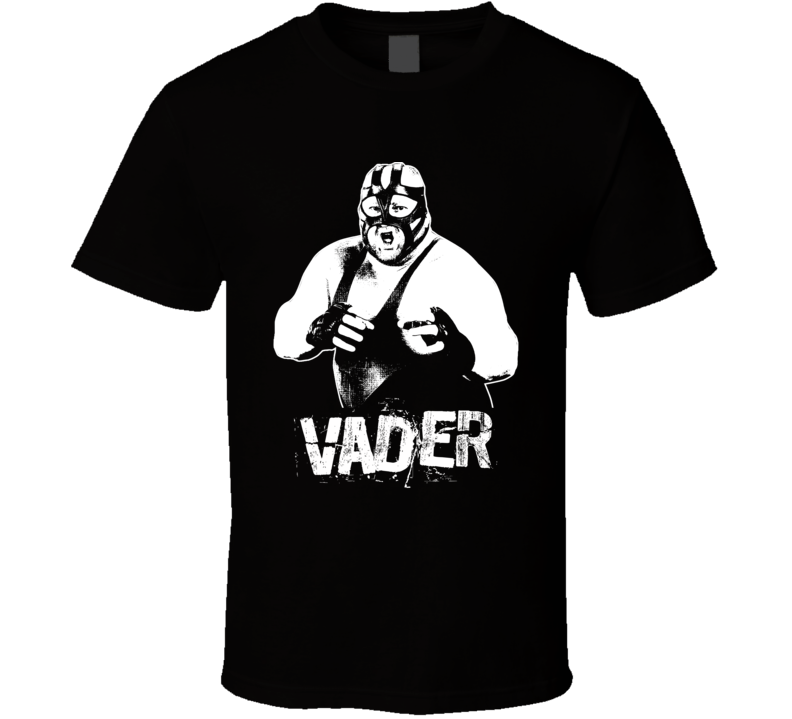 Vader Retro Legends Of Wrestling T Shirt
