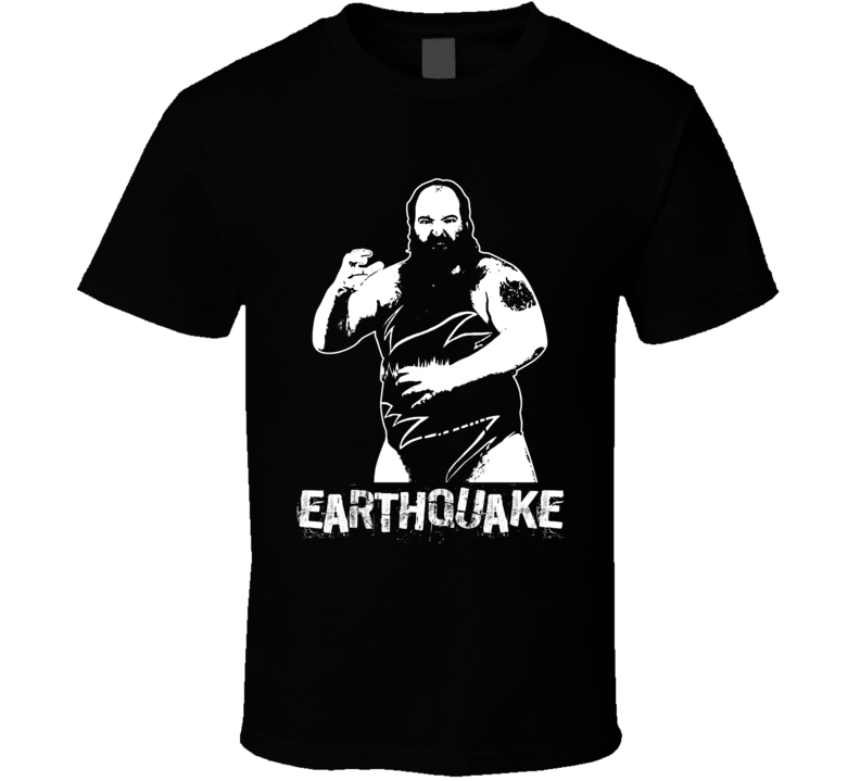 Earthquake Retro Legends Of Wrestling T Shirt