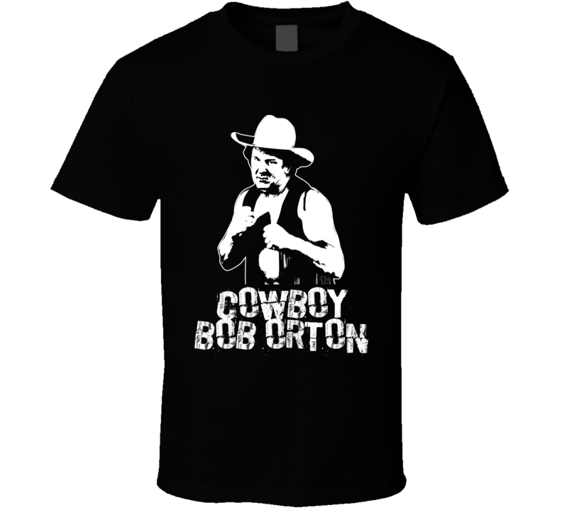 Cowboy Bob Orton Retro Legends Of Wrestling T Shirt