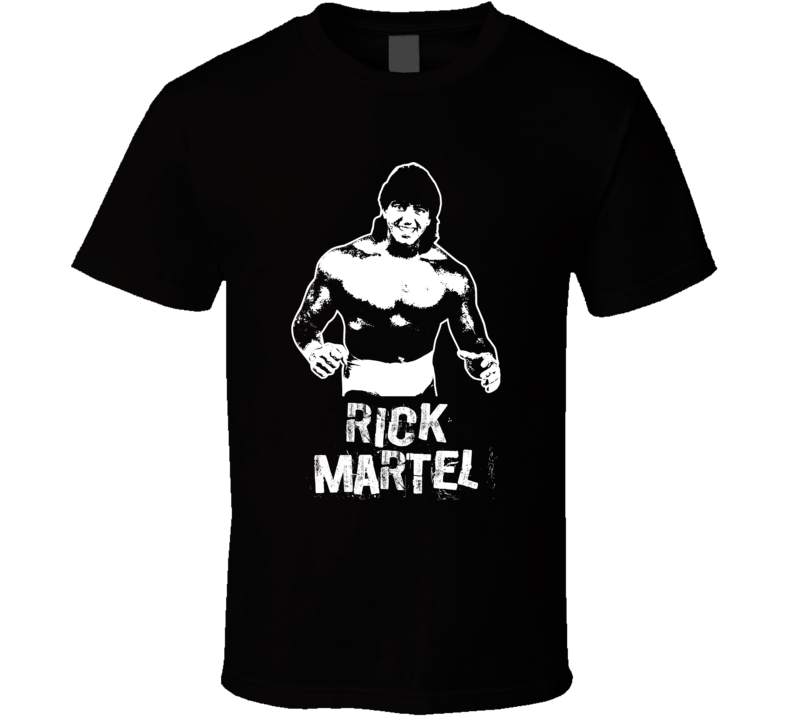 Rick Martel Retro Legends Of Wrestling T Shirt