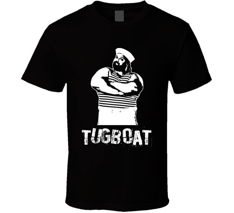 Tugboat Retro Legends Of Wrestling T Shirt