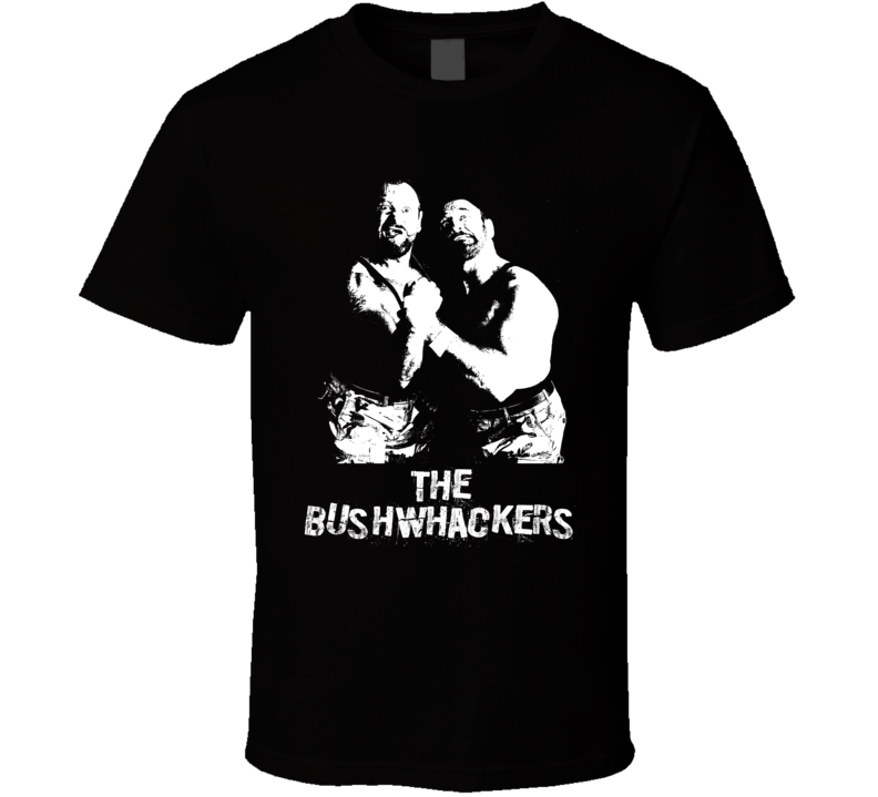 The Bushwhackers Retro Legends Of Wrestling T Shirt