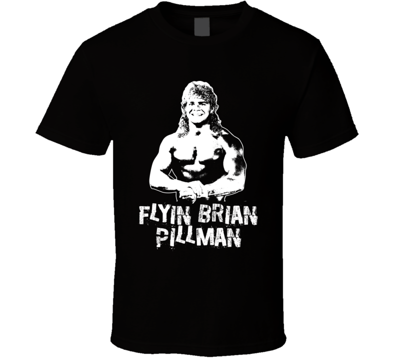 Flyin Brian Pillman Retro Legends Of Wrestling T Shirt